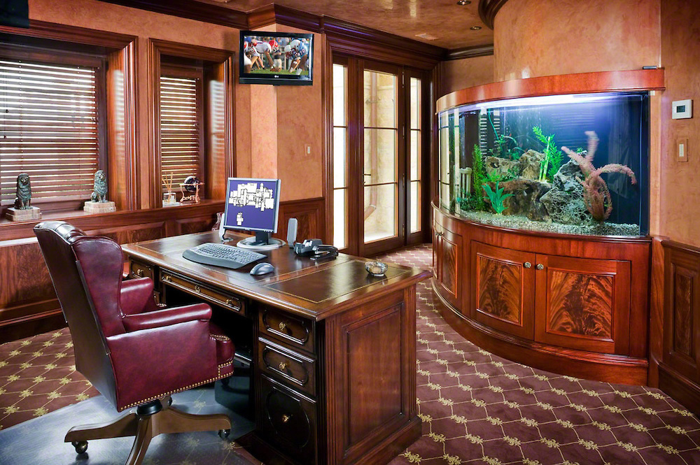 Fish tank for home office Glass Fish Tanks