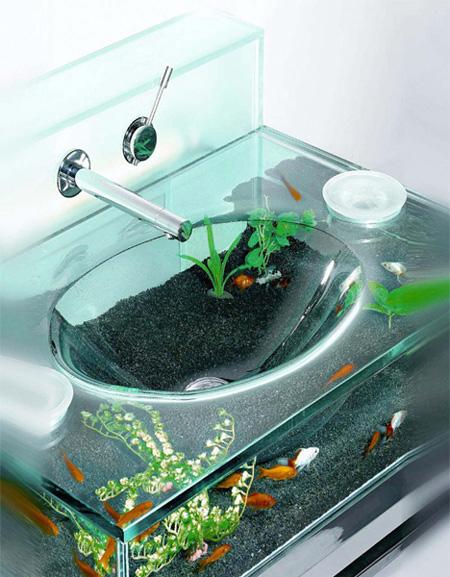 10 Cool & Unusual Aquariums Glass Fish Tanks